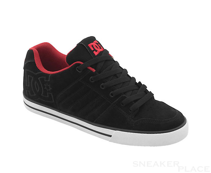 DC Chase GFL black/red shoes