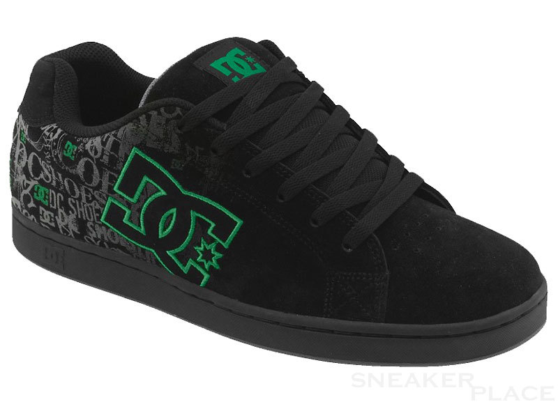 DC Character black/green shoes