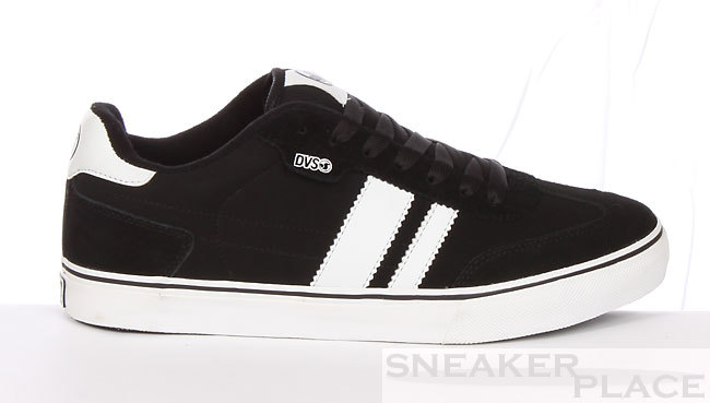 DVS Milan CT Black-Nubuck Shoes