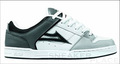 Lakai Carroll 4 grey/white leather Skaterschuhe