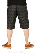 Reell Short Chino Chequered Black Grey
