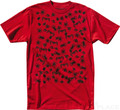 Emerica T-Shirt Slim Raid  red