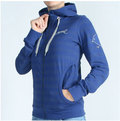 Aeme Zip Up Zip Up Stripes blau