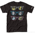 Globe Tee Girls in Glasses Black