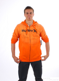Hurley Zip Hoodie Puerto Rico Gravity Orange