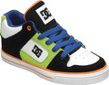 DC Radar Kinderschuhe schwarz/wei�/orange