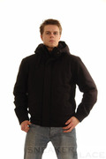 Ragwear Winterjacke Dockside Black Pinstripes
