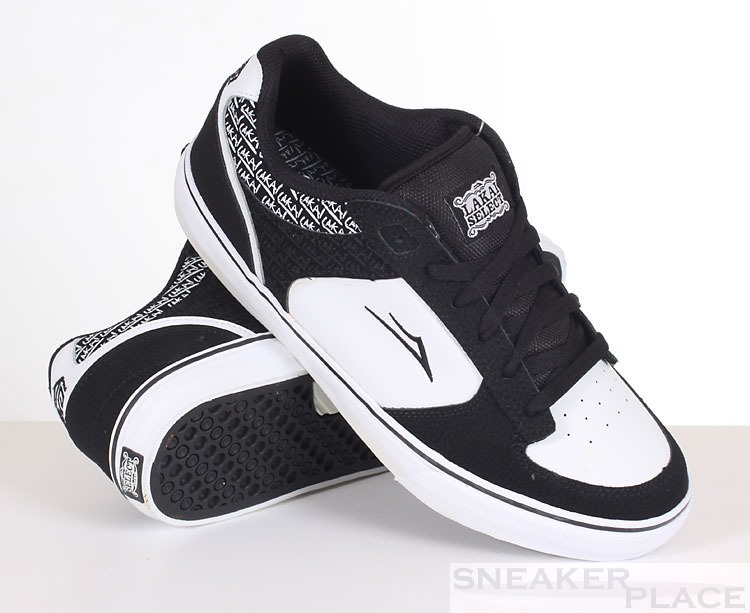 Lakai Koston Select White/Black Skatershoes
