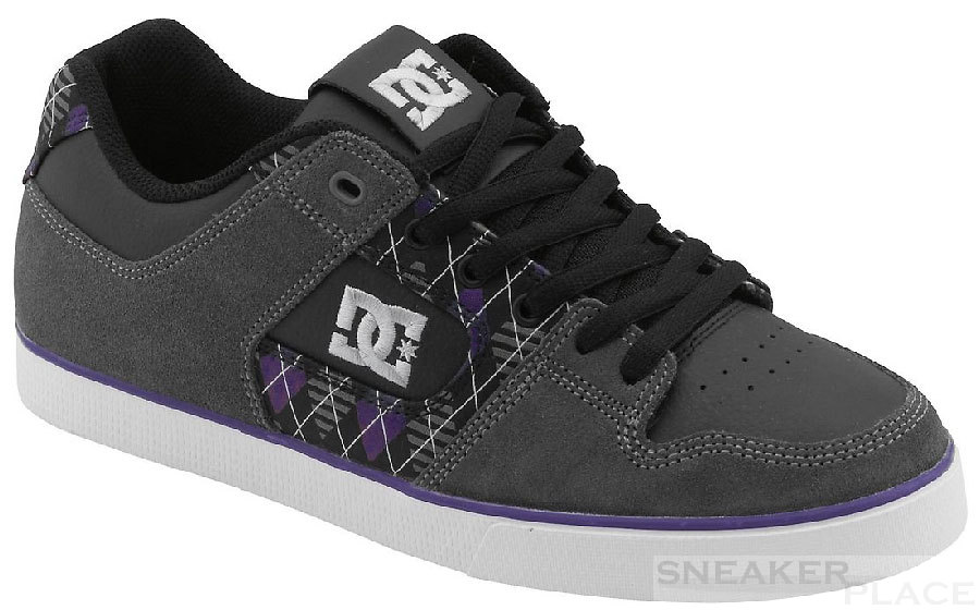 DC Pure Slim XE black/battleship shoes