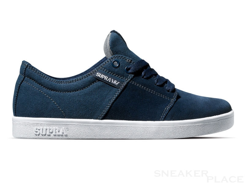 Supra Stacks Navy Suede Canvas Keng�t