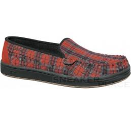 Globe Castro Red Plaid Schuhe