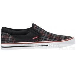 Globe Gotti G-Plaid Schuhe schwarz/rot