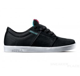 Supra TK Low Canvas Schuhe schwarz