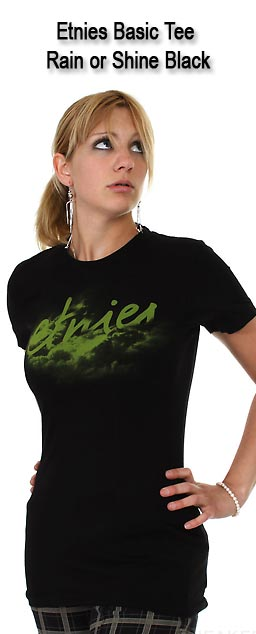 Etnies Basic Tee Rain or Shine Black
