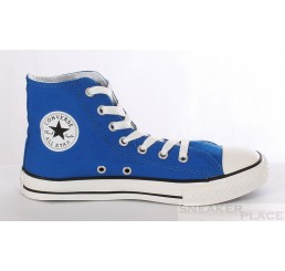 Converse Kids All Star Hi Can blau Kinder Chucks