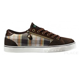 etnies Women ZIP brown green