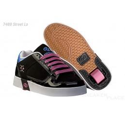Heelys Street Lo Schuhe mit Rollen schwarz/pink