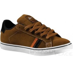 Emerica Men Shoes Leo brown/orange/white