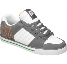 DC Chase Skaterschuhe Herren weiß-grau-orange