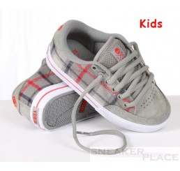 Circa AL 50 Lopez Kinderschuhe dove/gray plaid